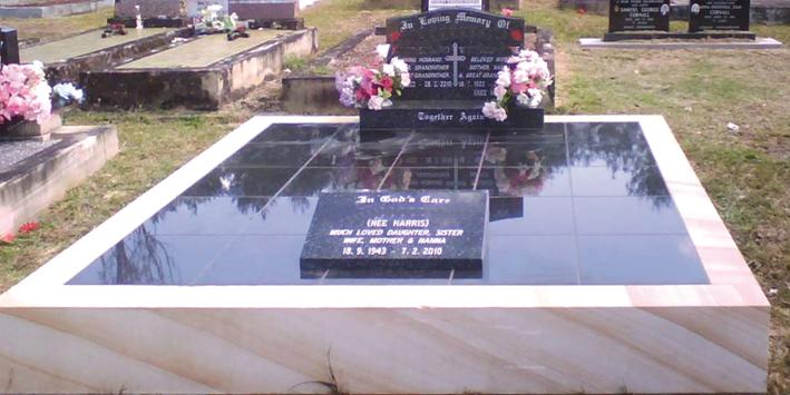 Double Full Monument Edstein Creative Edstein Creative - Ceramic photo tiles headstone
