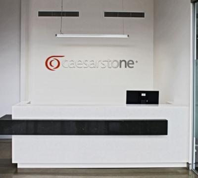 Caesarstone Moorebank Showroom Frosty Carina Emperadoro