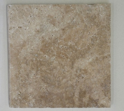 Light Wallnut Travertine Paving