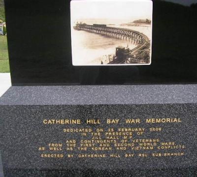 Catherine Hill Bay War Memorial