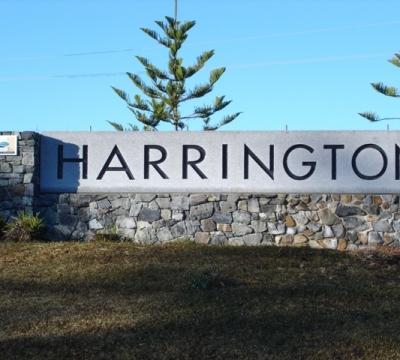 GTCC Town Signage - Harrington