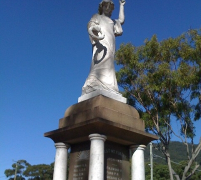 Laurieton Statue After