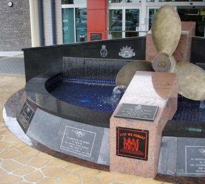 War Memorial At Taree RSL