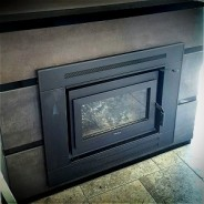 Exterior Fireplace Installation