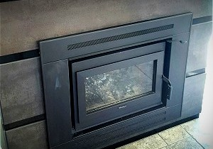Exterior Fireplace Installation