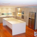 Keith's Designer Kitchens - Quantum Quartz - Luna White