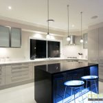 Nadin West - Caesarstone - Jet Black - Ice Snow