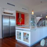 Seaside Cabinets - Caesarstone - Ice Snow